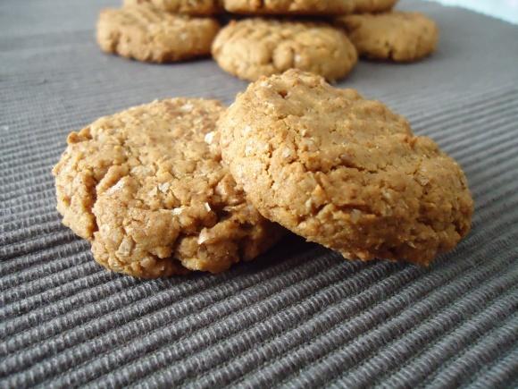 Almond butter cookies / Bolachas de manteiga de amêndoa ...