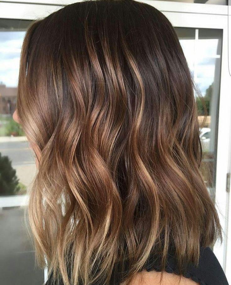 догадаться, что балаяж на натуральные волосы фото спины