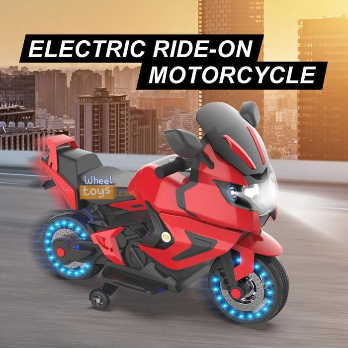 Kids Electric Motorcycle Power Wheels Motorcycle 12v 2 Wheels Ride On Toys Electric Motorcycle Hot Wheels Toys
