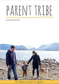 FREE online parenting magazine Parent Tribe, for families that value simplicity creativity, and nature.
