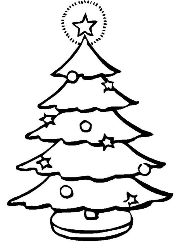 7 best Coloring Pages images on Pinterest Colouring in, Coloring - best of coloring pages for a christmas tree