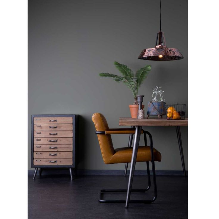 Fauteuil lounge Stitched Marron Drawer