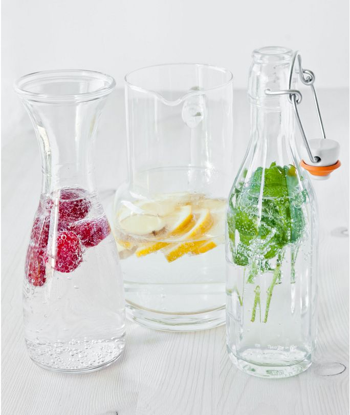 Hydrate! Always be well hydrated heading into a workout or race. If you have a hard time drinking enough water, try flavoring with fresh fruit, herbs, or veggies, like cucumbers