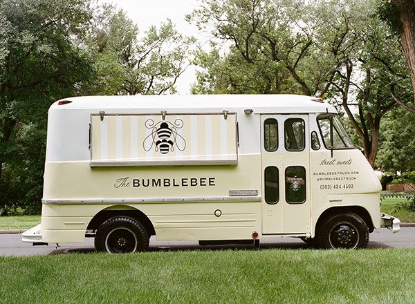 The Bumblebee Food Truck on Branding Served
