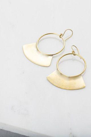 Paddle Earrings by Soko. Handcrafted in Kenya.