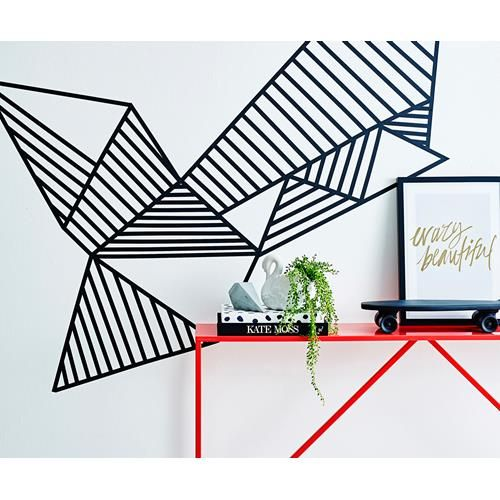 17 Best Ideas About Tape Wall Art On Pinterest Washi