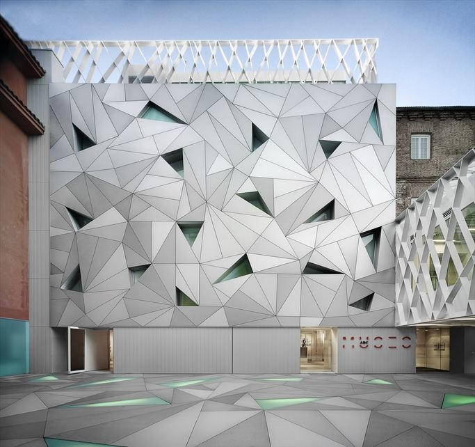 ABC Museum of Drawing and Illustration, Madrid by the Aranguren & Gallegos architectural studio