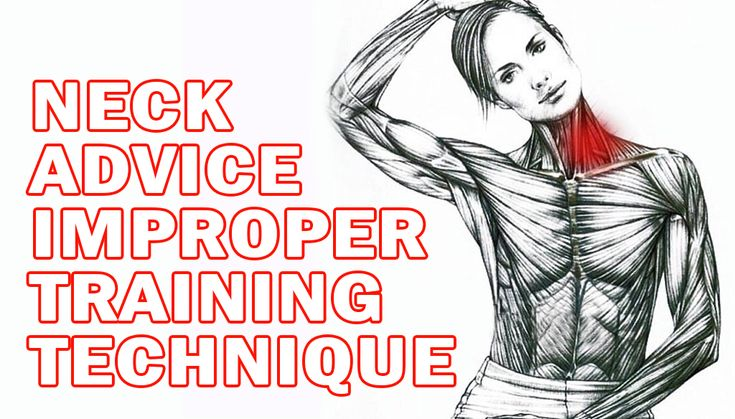 Neck Advice Improper training technique is one of several reasons why weight trainers can experience neck problems. Have you ever caught yourself trying to stretch, crack or loosen your neck? Tightness and pressure in that area usually indicates that there is a misalignment of the bones in the neck with…