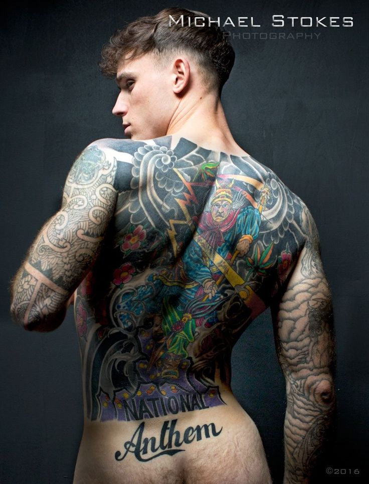 free gay men tattooed