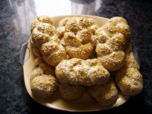 0030. celozrnné rohlíky od monikahor - recept pro domácí pekárnu