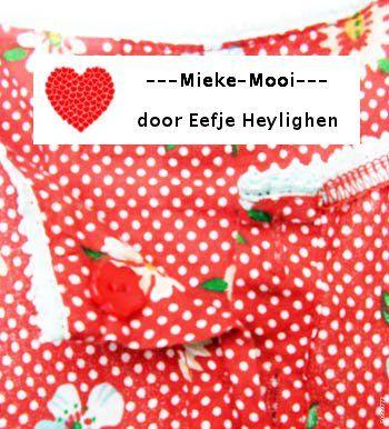 Joepie, net labels besteld voor mijn zelfgemaakte meisjeskleertjes! Binnenkort foto's van kleertjes mét label op mijn bord 'Mieke Mooi'.