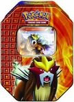 Entei Pokemon Tin Set Manufacturer: Nintendo / GameFREAKS Series: Pokemon TCG Release Date: September 2010 For ages: 4 and up Details (Description): Every Pokemon Has Its Day in the Pokemon TCG Collectors Tins! The Volcano Pokemon Entei is ready to erupt... the Aurora Pokemon Suicune shines a light on every game... and where theres thunder, theres Raikou! Every Pokemon Trading Card Game Collectors Tin adds a different kind of fun to your collection and your strategies with lots of awesome…