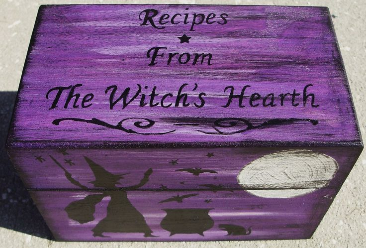 Witch Witches Boxes Cats Halloween Baking Primitive witches Recipe Halloween uk shops Kitchen Decorations shoe