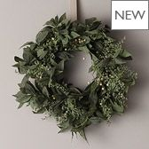 Sage & Snowberry Wreath £50