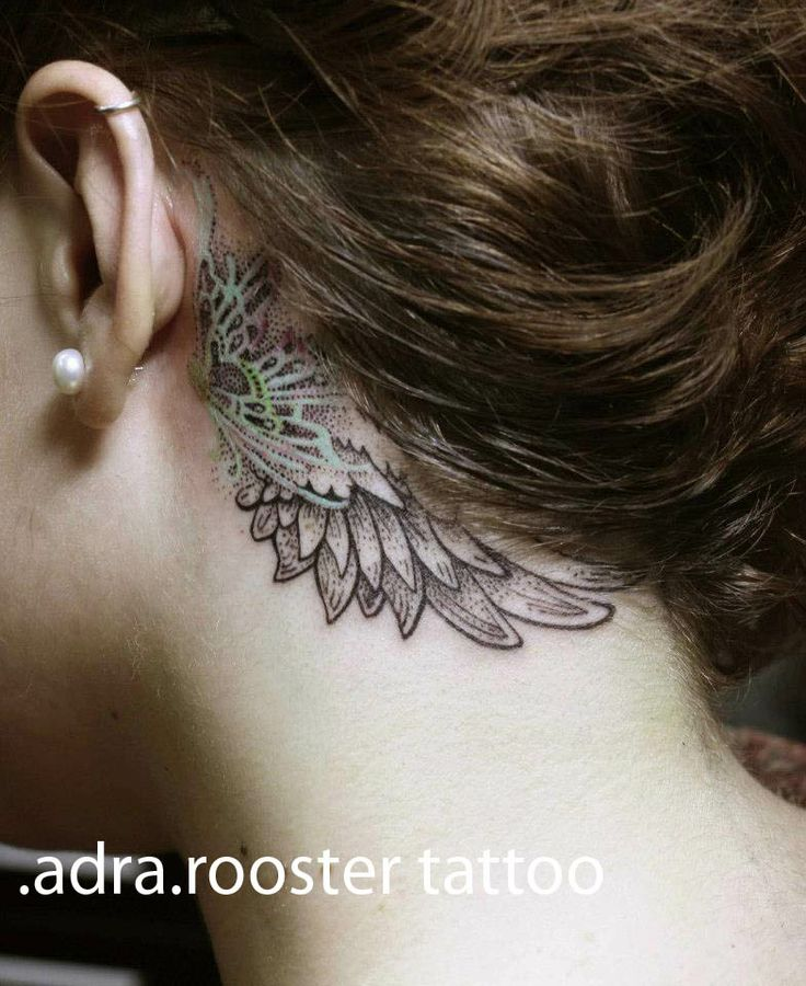 little wing by adra roostertattoo.com