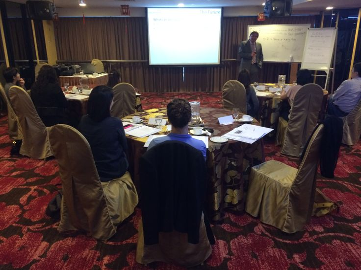 Participants engaged in the seminar...