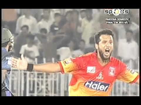 Final Peshawar vs Karachi Pakistan Domestic T20 Cup 1st innings Highligh...