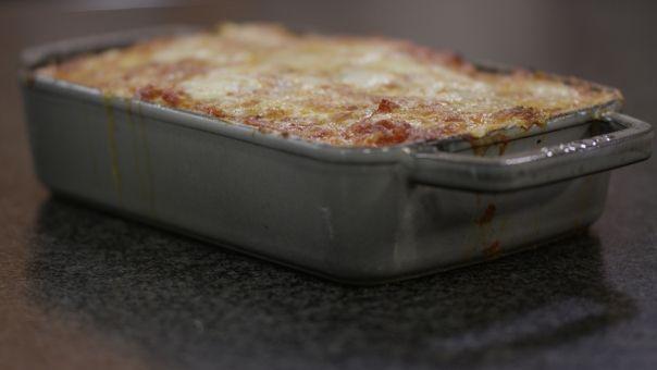 Eén - Dagelijkse kost - lasagne met gegrilde groenten
