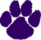 Clemson TIgers / TIger Paw / Clemson University / Show your Tiger Pride with tiger paw decals in your choice of colors.  Can be used indoors or out