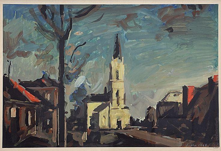 Ľudovít Fulla: Blumentálsky kostol:1934