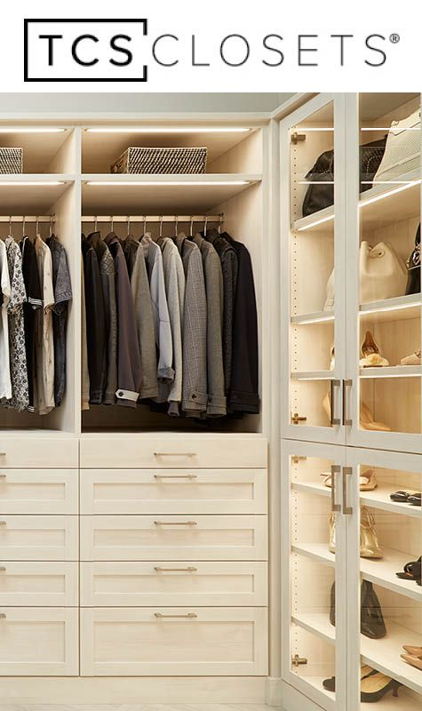168 Best Tcs Closets Images On Pinterest Closet Closet