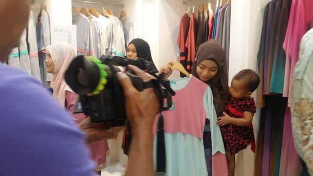 SHOOTING SELAMAT PAGI MALAYSIA TV1 BERSIARAN SABTU NI - Ceritera Si Gadis Biru