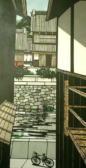 Paper cutting art, 隙間の風景