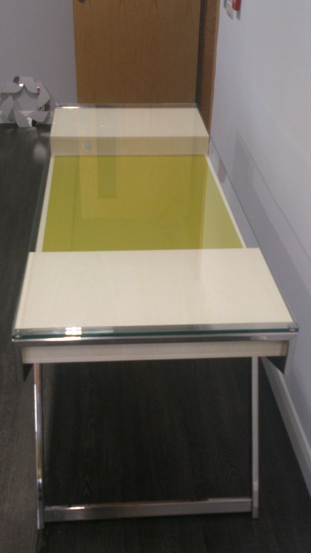 Lui Glass Desk   Http://www.msl Interiors.co.