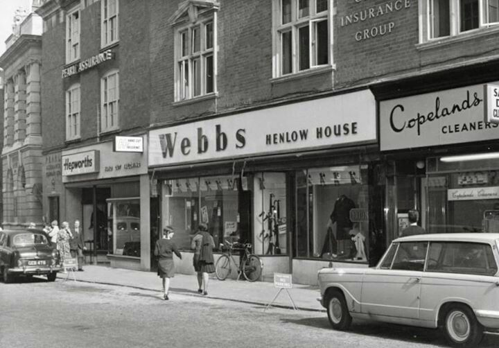 Kettering high street late 1960