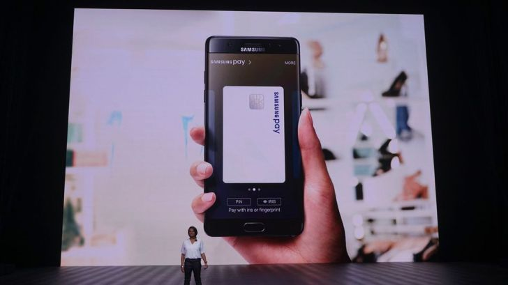 Samsung's Galaxy Note 7 Iris Scanner lets you pay with your eyes