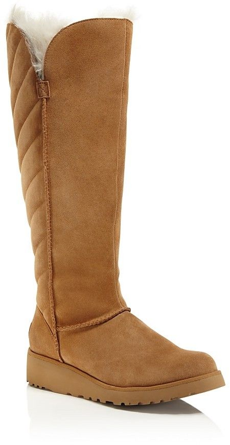 3b78331c1 UGG® Rosalind Quilted Tall Boots | Women's Boots | Ugg boots, Shoe boots,  Uggs