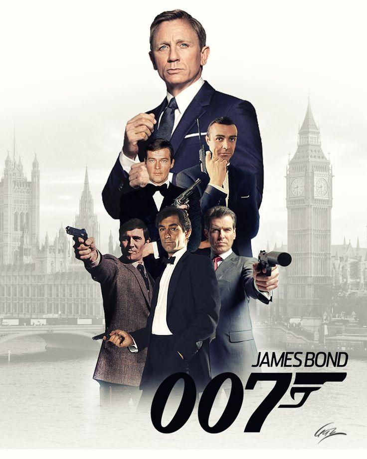 Every James Bond James Bond Theme James Bond Actors James Bond