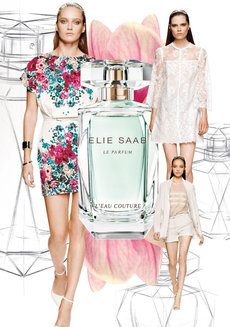 """""""L'Eau Couture"""" das neue Parfum von Elie Saab"""
