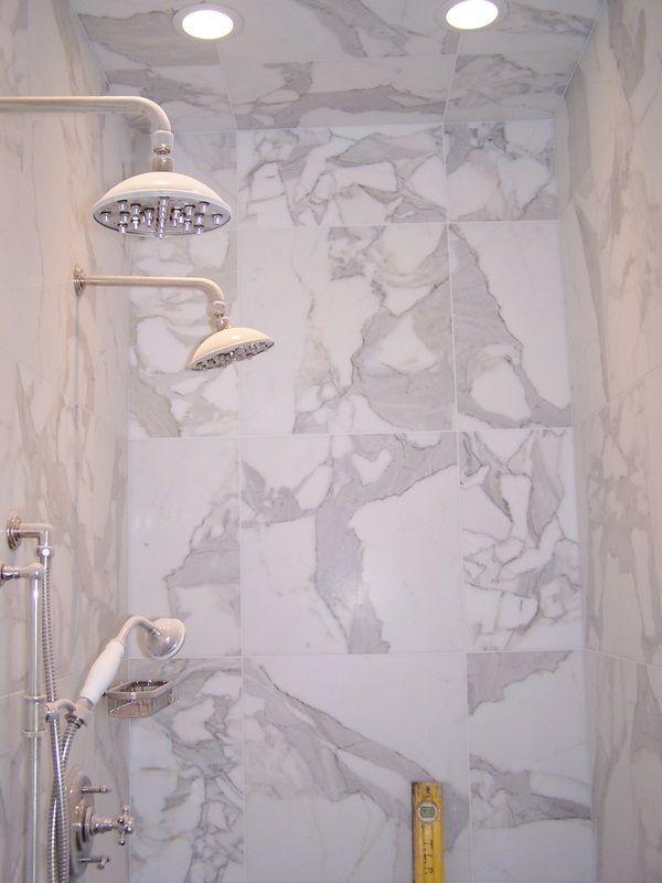 carrara marble tile bathroom photos spacious carrara marble master