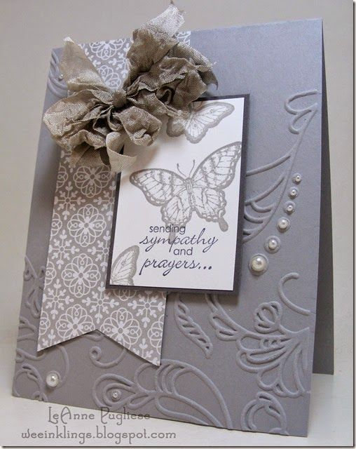 65 best cards sympathy images on pinterest cards greeting cards stampin up sympathy card minus that bow m4hsunfo
