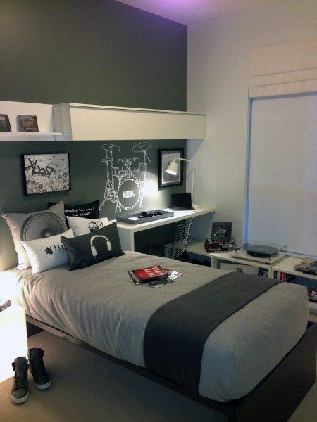 Top 70 Best Teen Boy Bedroom Ideas - Cool Designs For ... on Cool Bedroom Ideas For Teenage Guys  id=81766