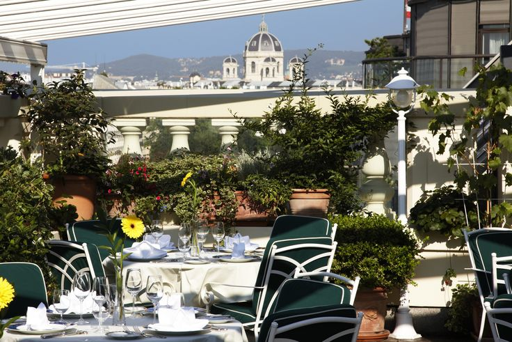 Grand Hotel Wien - Le Ciel Terrace  #luxpitality #grandhotelwien #restaurant #dining #leciel #terrace #outdoor #vienna #venue #hotel #austria #europe #meeting #event #wedding #conference #group #incentivetravel #luxury