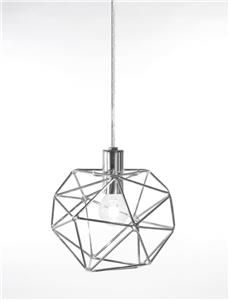 Globen Lighting Vinduslampe Diamond - krom (205-443052)