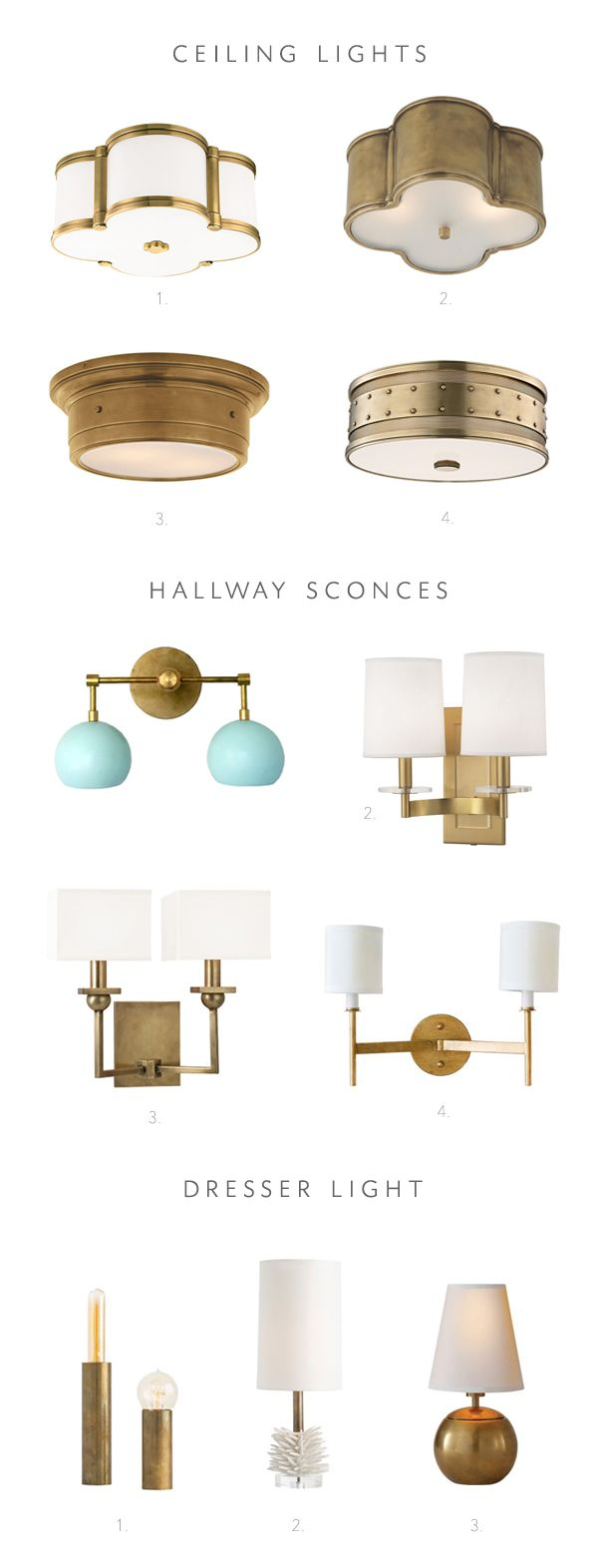 house lighting fixtures. Lighting Options For My One Room Challenge Makeover! House Fixtures