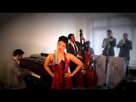 Womanizer - Vintage '40 Torch Song - Style Britney Spears Cover ft. Cristina Gatti - YouTube