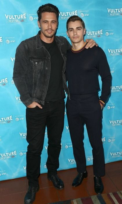 Double 'disaster'! James Franco and his brother Dave Franco also attended the Vulture Festival Los Angeles in Hollywood. The siblings star together in the new movie The Disaster Artist, which James also directed. Many of the cast members are James' friends, like Dave's wife Alison Brie and his longtime collaborator buddy Seth Rogen.