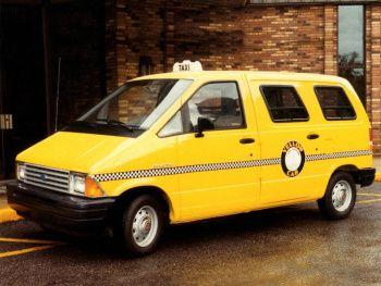 Ford Aerostar Dispatcher Paratransit Vehicle '1987