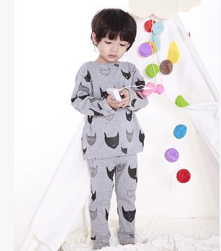 2015 Autumn High Quality Cartoon Kids Pyjama Boys And Girls Family Clothing Nightwear Outerwear Tracksuit Baby Clothing Set #3-in Pajama Sets from Mother & Kids on Aliexpress.com | Alibaba Group