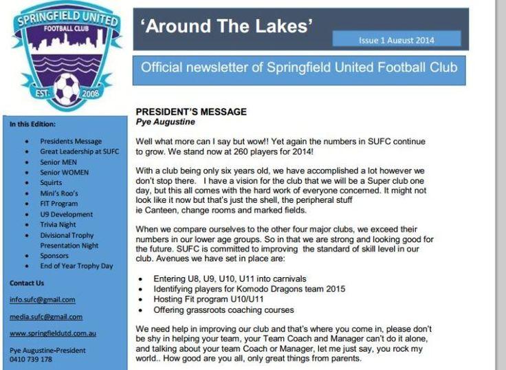 SUFC News - Springfield United Football Club - FOX SPORTS PULSE