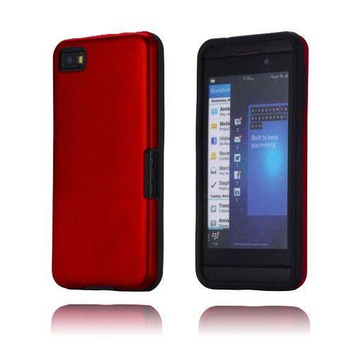 Alu Guard (Rød) Blackberry Z10 Cover