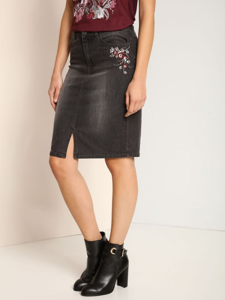 Top Secret S025891 DarkGrey Skirt