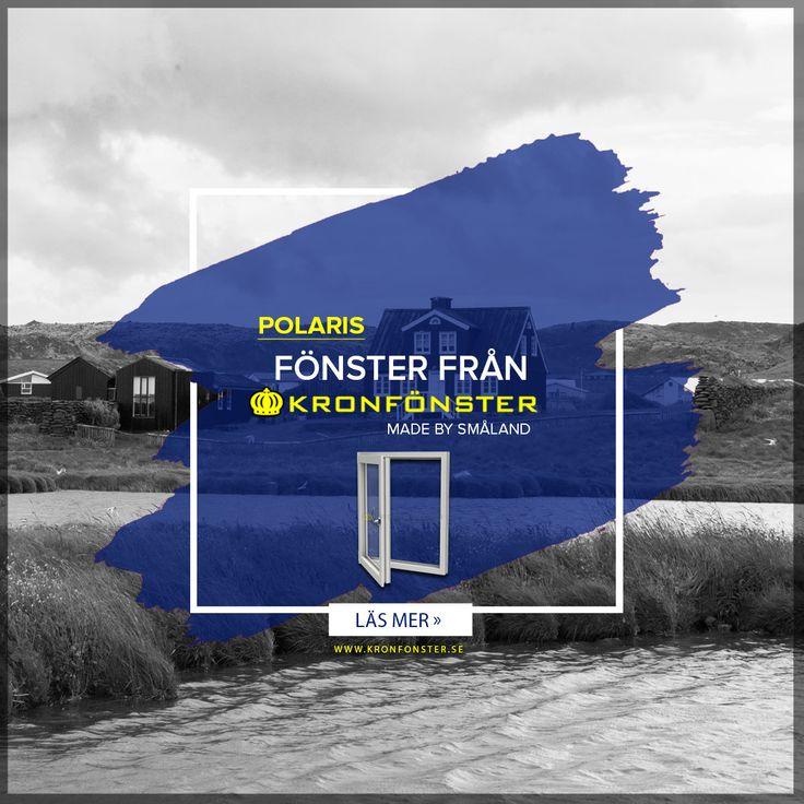 Fönster från Kronfönster - Made by Småland  Polaris: Inåtgående sido/bottenhängt fönster 1-luft 3-glas  #pvcfönster #fönster #Polaris #superenergiglas #Kronfönster  Läs mer » https://goo.gl/B32DfL