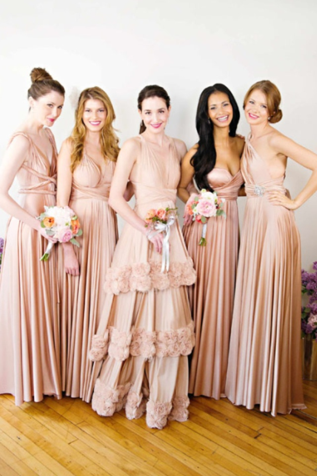 Two birds bridesmaid dresses - I love the short straight classic ones, but don't love the color selections.