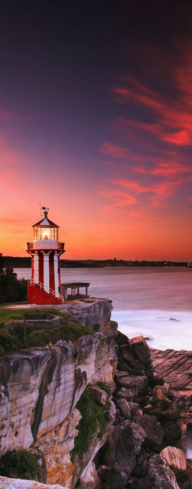 Hornby #Lighthouse - Sidney, #Australia http://dennisharper.lnf.com/ ⛵⛵⛵