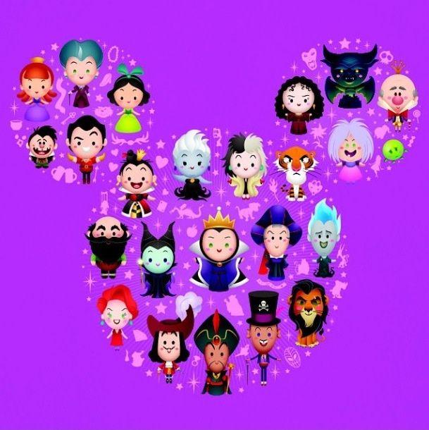Disney_villains_painting_at_Disneyland.jpg 609×610 pixels